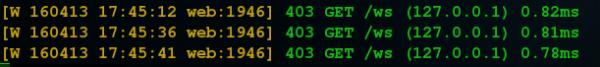 Nginx下配置webssh